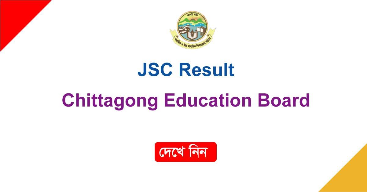JSC Result Chittagong Board