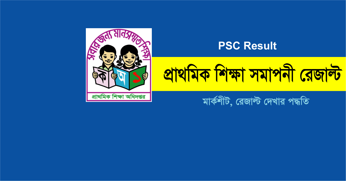 PSC Result 2018 With Mark Sheet DPE Result Teletalk com bd